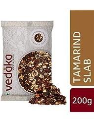 Amazon Brand - Vedaka Tamrind Slab (Imli), 200g