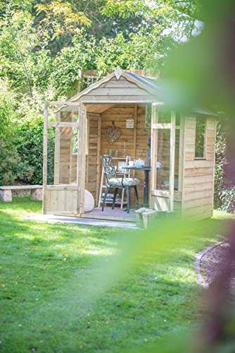 Overlap-Pressure-Treated-Summerhouse