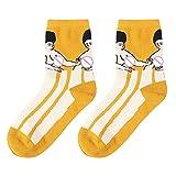 FOANA Frauen Baumwolle Funny Cute Print Socken Söckchen Funny Gifts Dress Socks