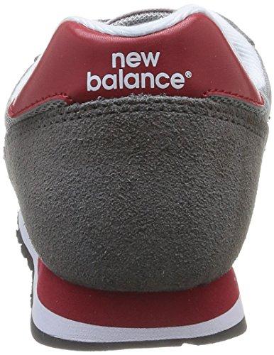New Balance 373 Herren Sneakers Grau (Grey/Red)