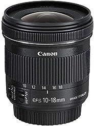 Canon Zoomobjektiv EF-S 10-18mm F4.5-5.6 IS STM Ultra Weitwinkel für EOS (67mm Filtergewinde, Bildstabilisator