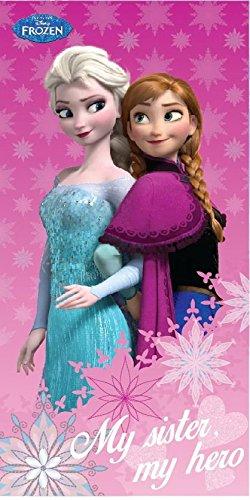 Telo mare frozen sister elsa e anna