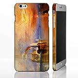 Coque pour téléphones iPhone - Collection art classique Coque inspirée de peintures célèbres., plastique, The Fighting Temeraire - J.M.W. Turner, iPhone 7