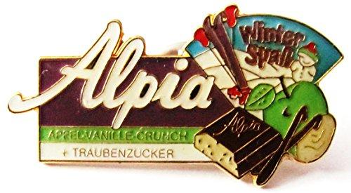 Alpia Schokolade - Winter Spaß - Pin 40 x 20 mm