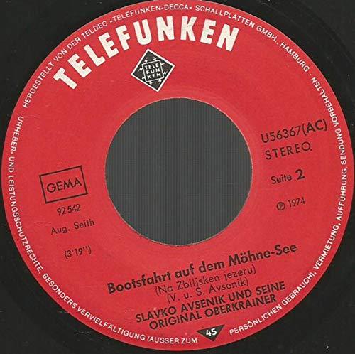 Schallali-Schallala / Bootsfahrt Auf Dem Möhne-See [Vinyl Single 7'']
