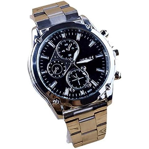 Fortan Business Chi dell'acciaio inossidabile degli uomini macchinari sport della fascia orologio al quarzo - Automatico Blu Mens Watch
