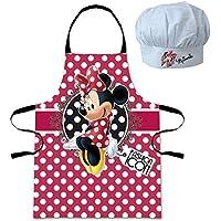 Minnie Mouse - Conjunto delantal y gorro cheff (Suncity MID101035)