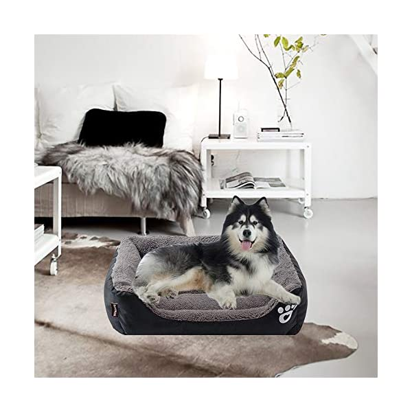 Urijk Soft Washable Waterproof Dog Cat Bed