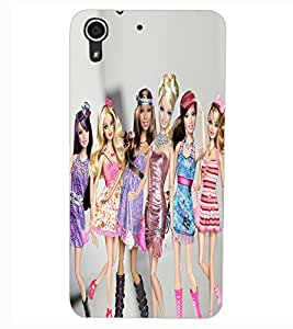 ColourCraft Beautiful Dolls Design Back Case Cover for HTC DESIRE 626S