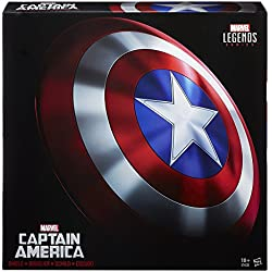 Avengers Marvel - Figura de escudo real Captain America, Legends (Hasbro B7436EU4)