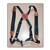 Soundman® Universal Shoulder Strap for Alto Saxophone, Adjustable Harness, Well Padded - Size