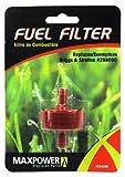 Maxpower 3342861/10,2cm Inline-Kraftstofffilter ersetzt Briggs & Stratton 298090, 298090S Kraftstoff, 5018, 5018b, cub Cadet bs-298090s, 751–3013, und viele andere