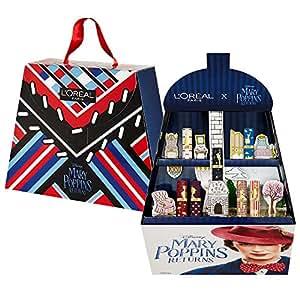 L'Oréal Paris Cofanetto Idea Regalo Disney, Collezione in Edizione Limitata Mary Poppins, 7 Rossetti Color Riche, Texture Cremosa ed Idratante