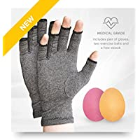 Leine® | 3Stück | Arthritis Handschuhe und Physio Ball–Trösten Arthritis Schmerzlinderung | 3Größen (klein) preisvergleich bei billige-tabletten.eu