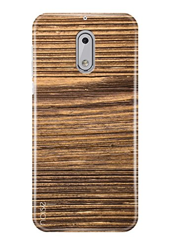 Noise Nokia 5 Cover , Printed Designer Back Cover For Nokia 5 Case cover / Patterns & Ethnic / Wood Design - (GD-260)  available at amazon for Rs.399