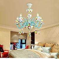 Leuchter Bunte Kinderzimmer Kronleuchter Kreative Persönlichkeit  High End Kunst Auge Prinzessin Mädchen Schlafzimmer Lampen