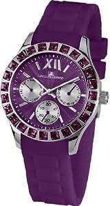 Jacques Lemans La Passion Damen-Armbanduhr Rome Sports Analog Silikon 1-1627K