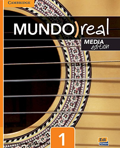 Mundo Real Media Edition Level 1 Student's Book plus 1-Year ELEteca Access par Celia Meana