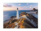 Clementoni - Puzzle de 1000 piezas, High Quality, diseño Faro De Nueva Zelanda (392360)