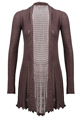 Anna Field Strick-Cardigan Damen Lila Strickjacke, 34