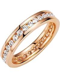 Spirit - New York Damen-Ring Silber vergoldet Zirkonia roségold 930041975