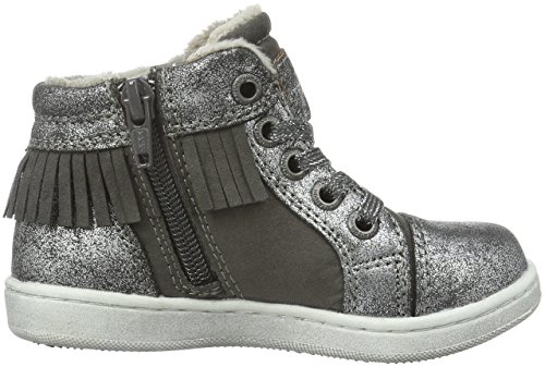 Tom Tailor 1672706, Sneakers Hautes Fille Gris (Grey)