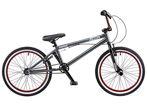 51kZTNIz7iL - Rooster Unisex's Jammin 2016 Bike, Grey/Black/Maroon, 20-Inch