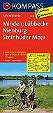 Minden - Lübbecke - Nienburg - Steinhuder Meer: Fahrradkarte. GPS-genau. 1:70000: Fietskaart 1:70 000 (KOMPASS-Fahrradkarten Deutschland, Band 3036)