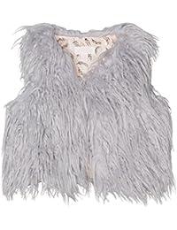 Pumpkin Patch Furry Vest, Chaleco para Niños