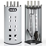 TecTake Metal 5 Piece Fireplace Tool Set, Fireside - Best Reviews Guide