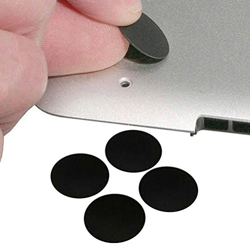 UKCOCO 4 Stücke Unteren Fall Gummi Fuß Pads für MacBook Pro A1278 A1286 A1297 13/15/17 inch