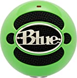 Blue Microphones Snowball Omnidirectional/Cardioid USB Microphone - Neon Green