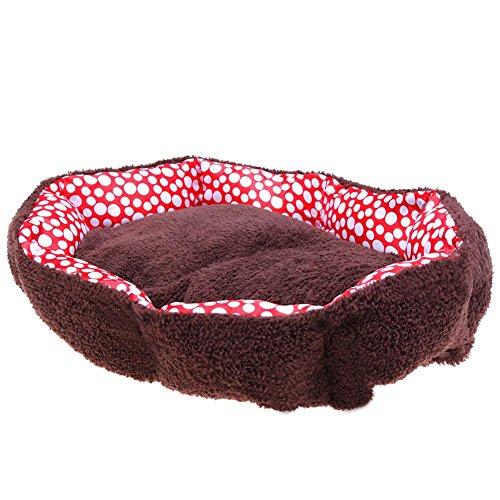 Macrorun Warm Winter Baumwolle Katzenbett aus Plüsch Puppy Hund Nest House Hütten, Pet Supplies