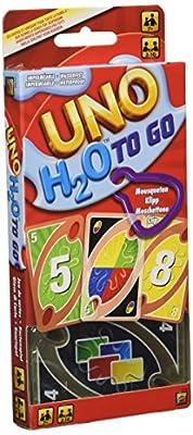 Mattel Games UNO H2O Sport Jeu de Société et de Cartes, P1703