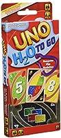 Mattel Games UNO H20 To Go, juego de cartas (Mattel P1703)