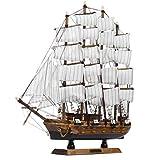 ExcLent 50 Cm Fatto A Mano In Legno Barche A Vela Modello Assemblaggio Nave Nautica Goletta Decorazioni Barca Regalo