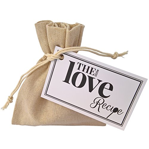 The Little Love Recipe - A Unique, Fun and Loving Gift or Token, To Recognise the One You Love! Gift for Husband, Wife, Girlfriend, Boyfriend, Partner, Christmas, Birthday...