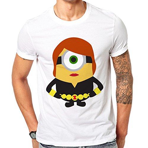 Avengers Minions Black Widow XXL Herren T-Shirt