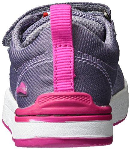 Viking Unisex-Kinder Frogner Kids Outdoor Fitnessschuhe Violett (Grey/Magenta)