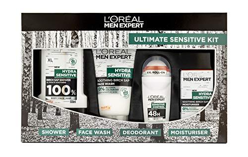 L'Oréal Men Expert ultime sensibles kit 4pièces Ensemble cadeau pour lui