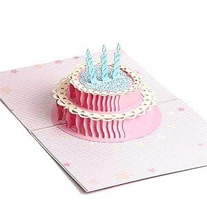 Tarjeta de Cumpleaños Pop Paper