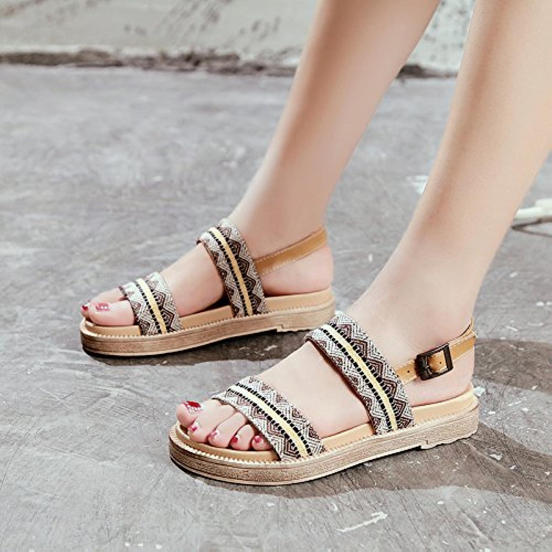 Donna   Uomo YMFIE Estate lady's sandali,35 UE,b Merci varie di moda Prezzo al dettaglio | Grande vendita  | Maschio/Ragazze Scarpa