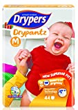 #8: Drypers Drypantz Medium Size Diapers 44 Counts
