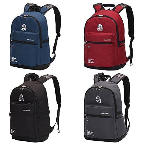 WOLTU® RS8308bl , Granite Gear Rucksack Daypack Backpack Laptop 15 Zoll Herren und Damen für Schule Kinder Wandern Camping Laptoprucksack 17 Zoll Sportrucksack Schulrucksack wasserdicht Blau