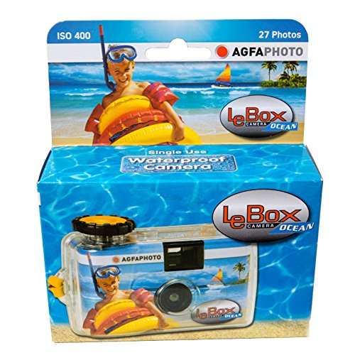 Appareil photo jetable aquatique 27 poses LeBox Agfaphoto