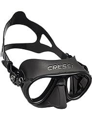 Cressi DS425050, Maschera Subacquea Unisex – Adulto, Nero, Taglia Unica