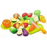 Lychee Lebensmittel Set Spielzeug Spielküche Essen Spielzeug Küchespielzeug für Kinder (Schneiden Gemüse gesetzt)