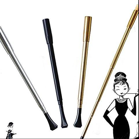 Flappers Costumes - Pygex (TM) 27cm Argent Noir Doré véritable