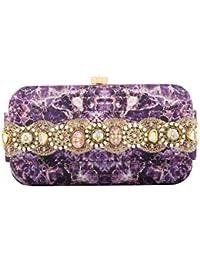 Puneet Gupta Women's Clutch (Purple)