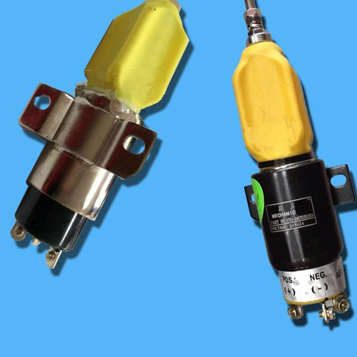 Gowe Shut Off Solenoid für flammabriss Magnetventil Shut Down Shut Off Solenoid Stop Solenoid Komatsu PC200–6Bagger